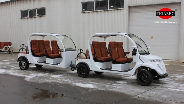 Пассажирский полуприцеп для электромобилей от ЗАО