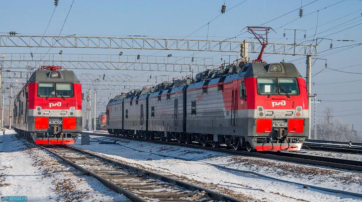 4ЭС5К «Ермак»: самые мощные локомотивы поехали работать на сложнейшие участки РФ
