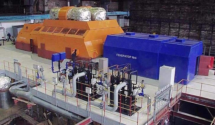 Уральский турбинный завод на 90% обновил мощности Павлодарской ТЭЦ-3 (Казахстан)