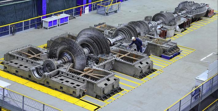 Уральский турбинный завод выпустил крупнейшую в мире теплофикационную турбину нового поколения