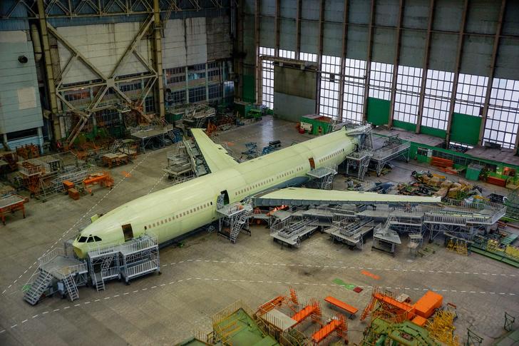 Ил-96-400М передан в цех окончательной сборки