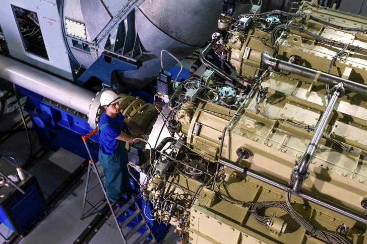 Редуктор агрегата М55Р Фото: © АО «Объединённая двигателестроительная корпорация»