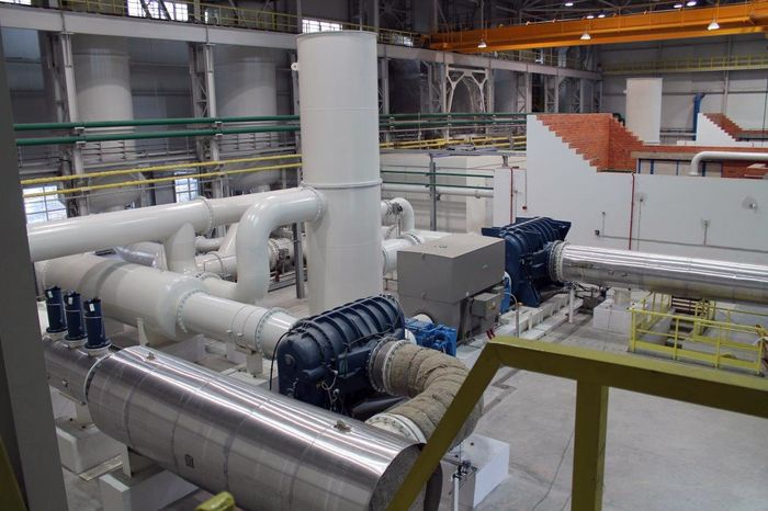 Среднеуральский медеплавильный завод ввел в работу новую кислородную станцию