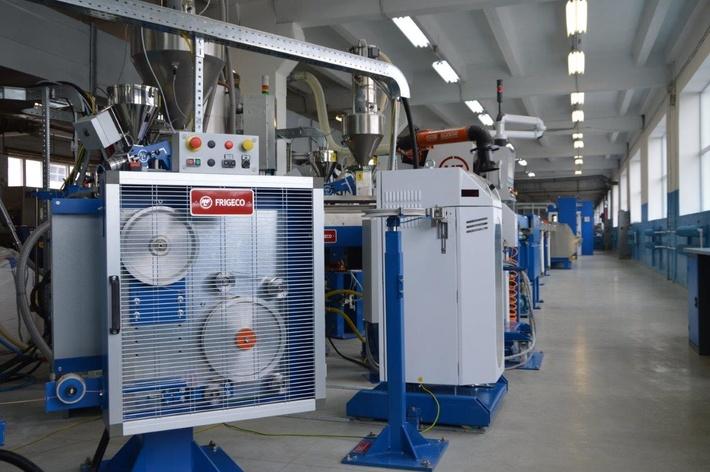 На заводе «Уралкабель» запустили новую экструзионную линию стоимостью 750 тыс. евро