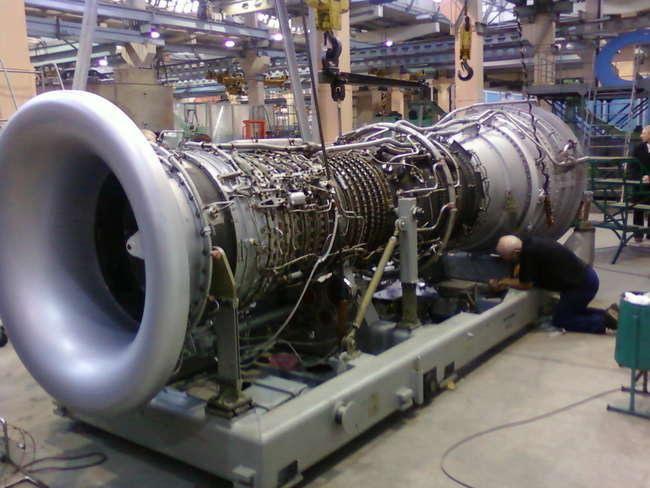 Салют поставил двигатели для Газпрома