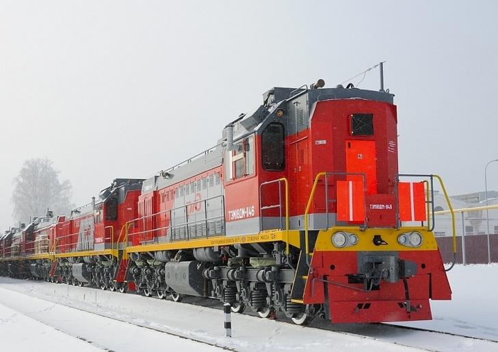БМЗ отправил в адрес ОАО «РЖД» первую в этом году партию тепловозов