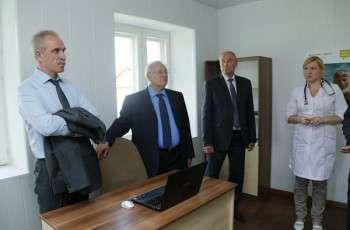 В рамках проекта «Доктор рядом» в селе Подкуровка Тереньгульского района открылся офис врача общей практики