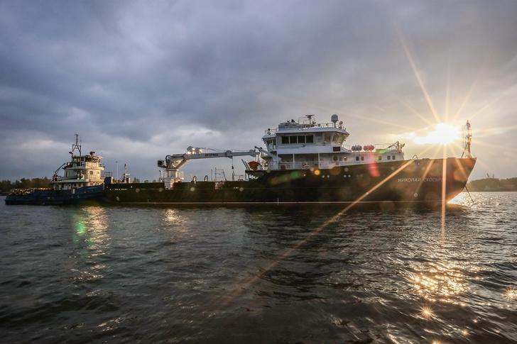 Малое гидрографическое судно проекта 19910 «Николай Скосырев» отправилось в Мурманск