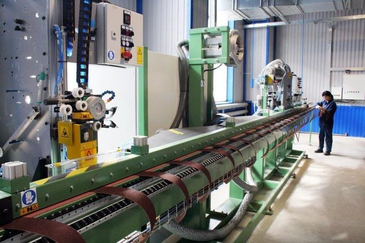 Волжский абразивный завод запустил новую производственную линию гибкого шлифовального инструмента