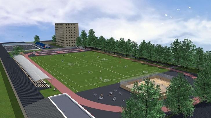 Уже есть первые эскизы. В МГТУ задумались над созданием университетского стадиона » Новости на Верстов.Инфо - сайт Магнитогорск