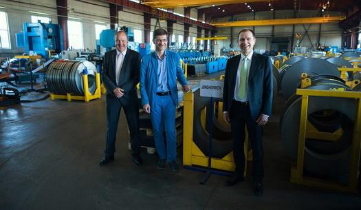 Немецкий концерн Jungheinrich открыл производство стеллажей в Твери