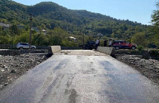Два новых моста построили в Лазаревском районе Сочи