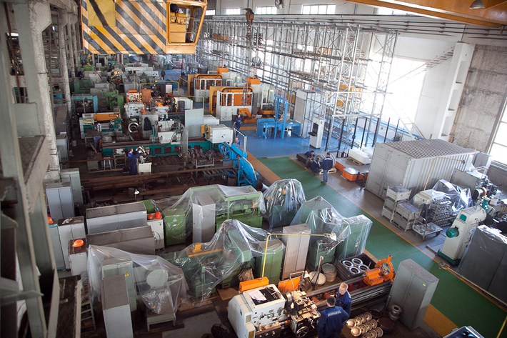 В Волгоградской области в 2015 году отмечен рост промышленного производства