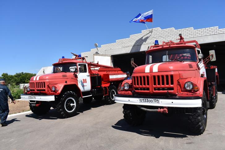 В Волгоградской области открылось новое подразделение противопожарной службы