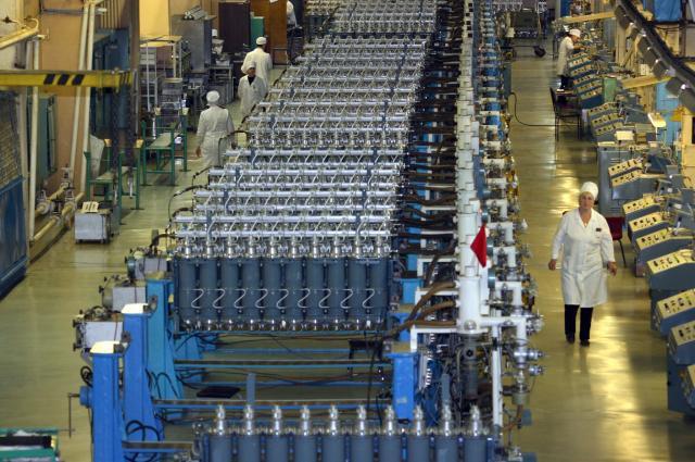 Ковровский механический завод отгрузил первую партию очистительных газовых центрифуг