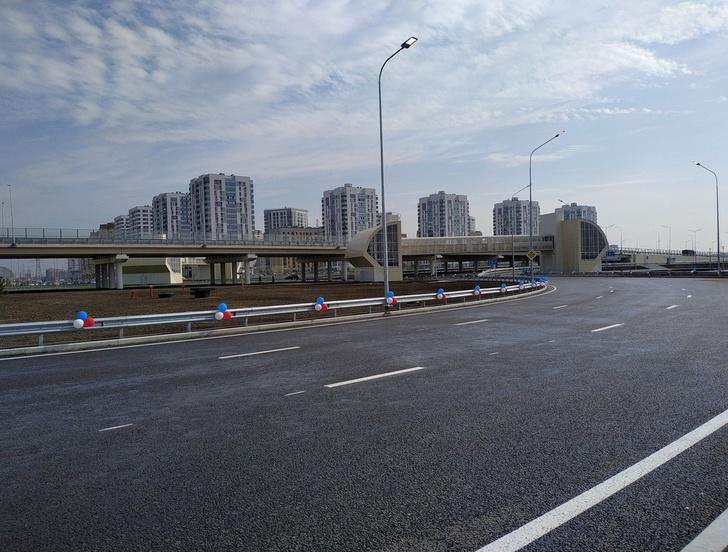 В Тюмени торжественно открыли кольцевую автодорогу (ТКАД)