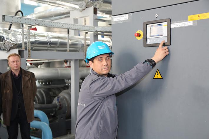 В Свердловской области запустили новую компрессорную станцию на предприятии ВСМПО-АВИСМА