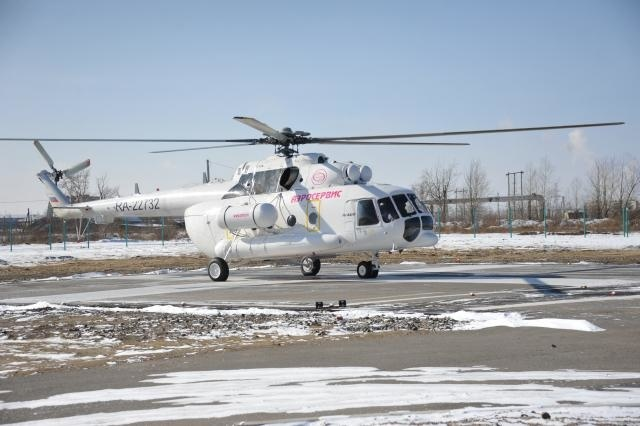 Вертолёт с медицинским модулем передан Забайкальскому краю