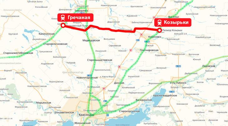 На юге России открыт железнодорожный обход Краснодара