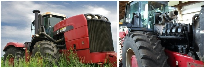 Двигатель ТМЗ на трактор Buhler Versatile 435