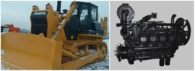 Двигатель ТМЗ для Shantui SD32
