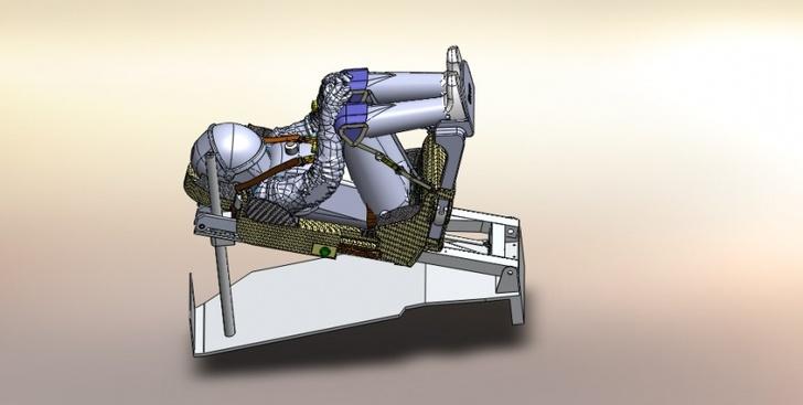 Изготовлен макет кресла космонавта для корабля «Федерация»