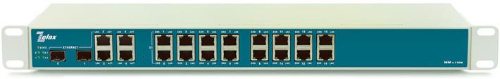 Шлюз TDM через IP ММ-116М Zelax