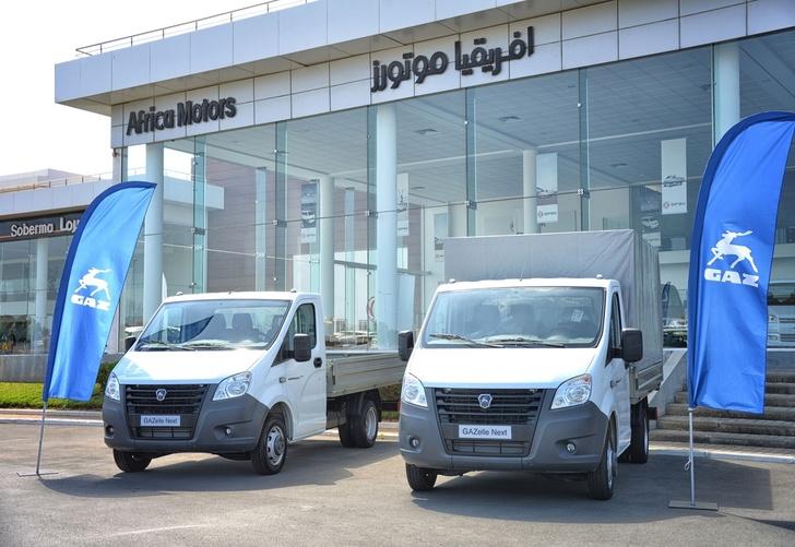 «ГАЗели NEXT» начали продавать в Марокко