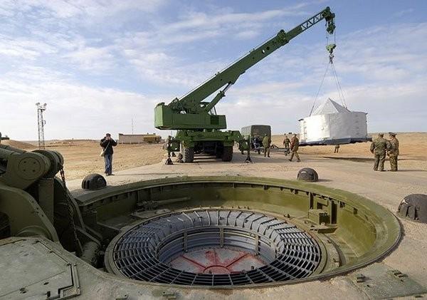 Новый ракетный комплекс шахтного