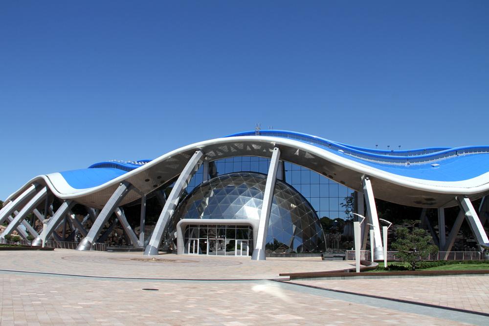 Приморский океанариум наРусском принял первых гостей