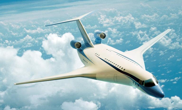 самолета интегральной