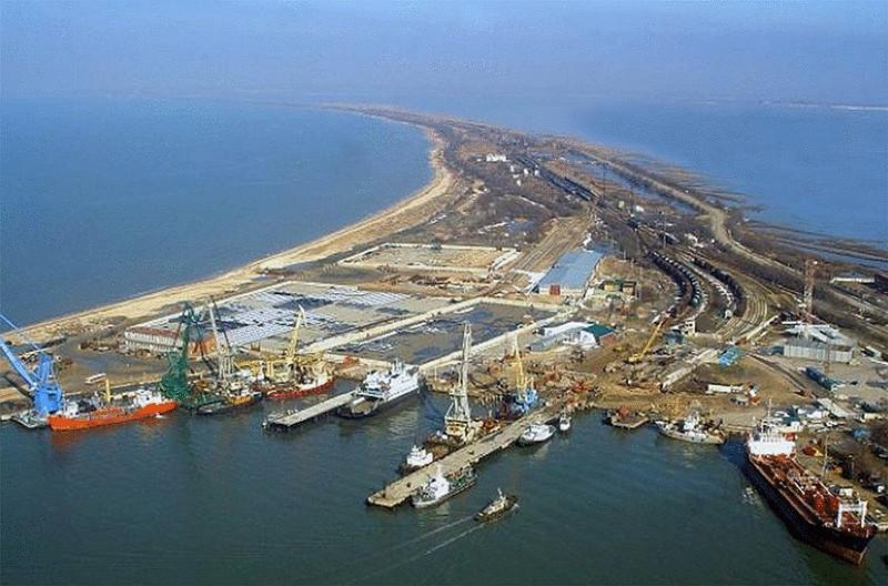 Развитие порта России - Тамань