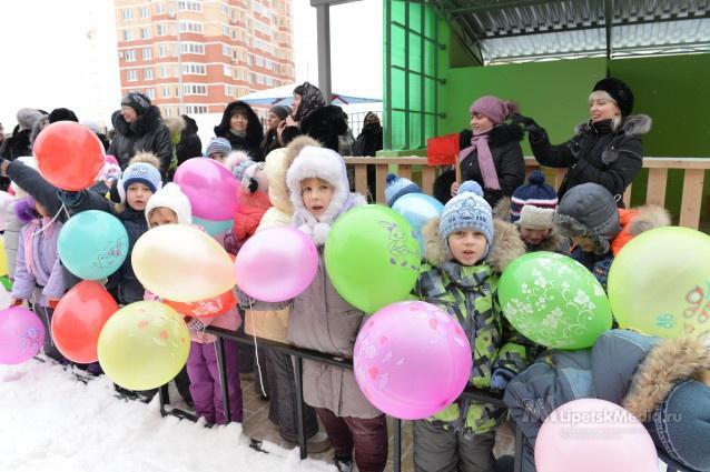 Открытие нового детского сада на новый год