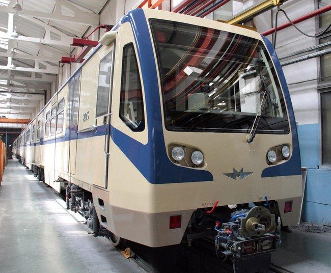 Поставка вагонов метро модели