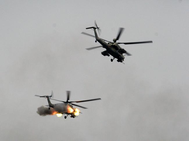 Огонь ведут Ми-28