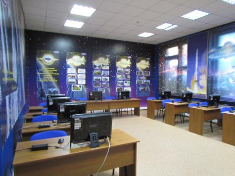 ЦКУ в школе № 85. Фото: Роскосмос.