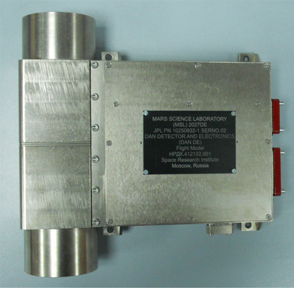 блок детекторов и электроники ДАН