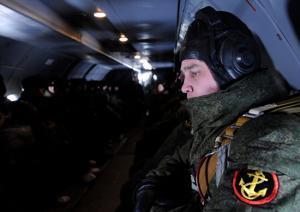 Морские пехотинцы Каспийской флотилии приступили к совместным занятиям с армейской авиацией