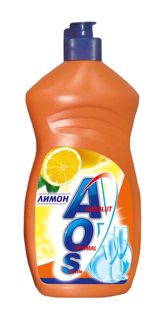 Средство для мытья посуды «AOS с ароматом лимона»