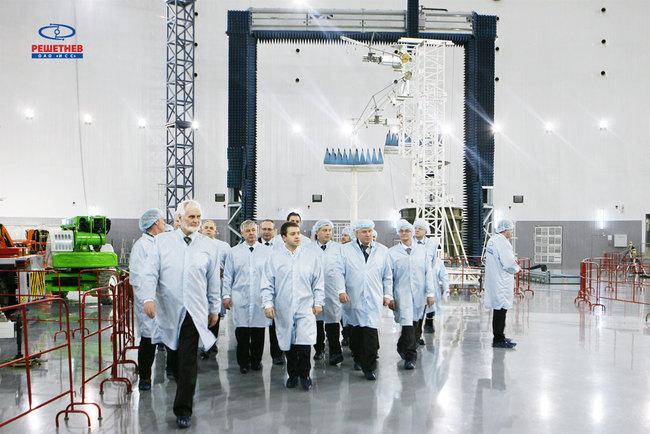 Гости в ИСС им. М. В. Решетнева