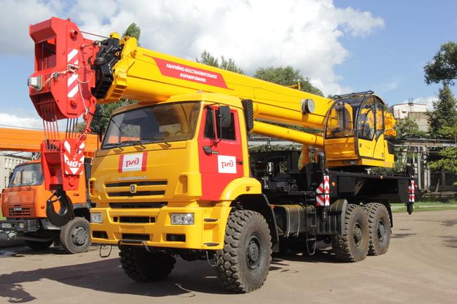 КС-65719-5К-2 на шасси КАМАЗ-65222