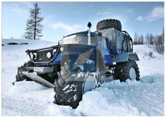 снегоболотоход «Харп-Р» в базовом исполнении