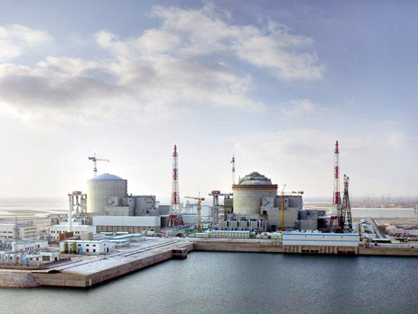 """Тяньваньская АЭС в Китае, построенная по проекту """"АЭС-91"""""""