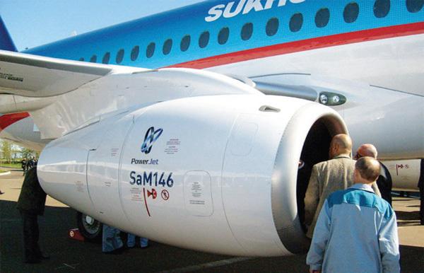 Авиадвигатель SaM146