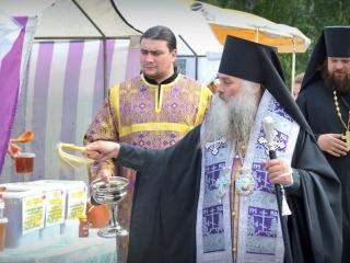 Владыка Сергий, Епископ Барнаульский и Алтайский, освятил продукцию