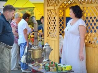 Гости смогли попробовать пчелопродукцию, а также оздоравливающие продукты