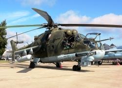 Вертолет Ми-24. Фото А. Соколов