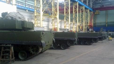 Производственный задел САУ 2С31 «Вена»