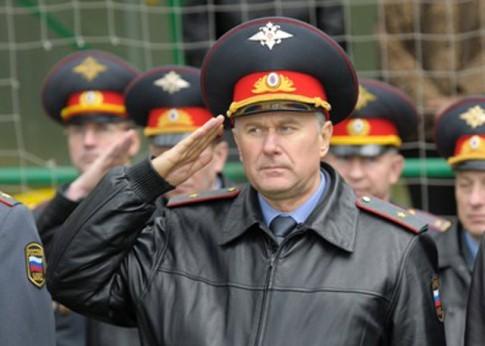 Вячеслав Хаустов генерал-майор полиции. Фото пресс-службы МВД.