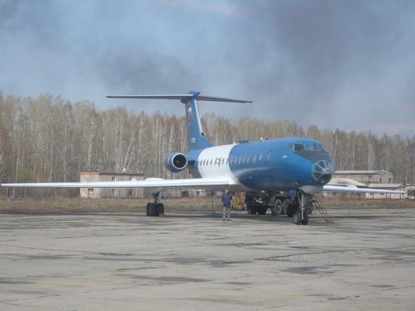 Самолет-лаборатория «Оптик» на базе ТУ-134